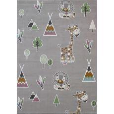 Παιδική χαλομοκέτα Baby Jungle 095 Grey